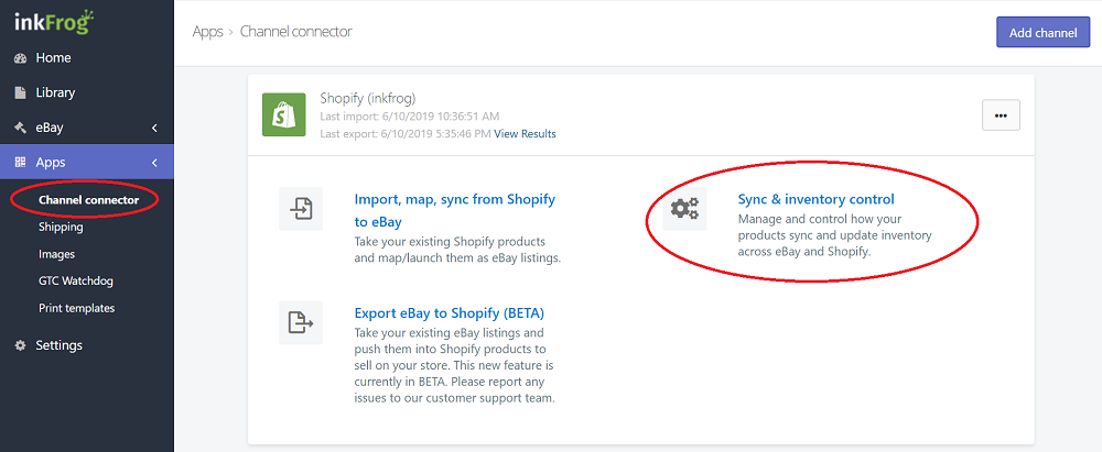 Ebay To Shopify Is Now Possible With Inkfrog
