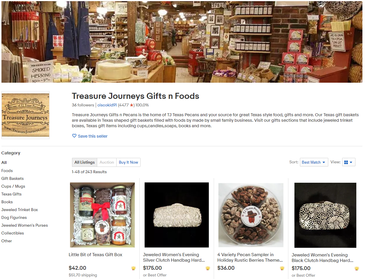 Treasure Journey Gifts N Foods